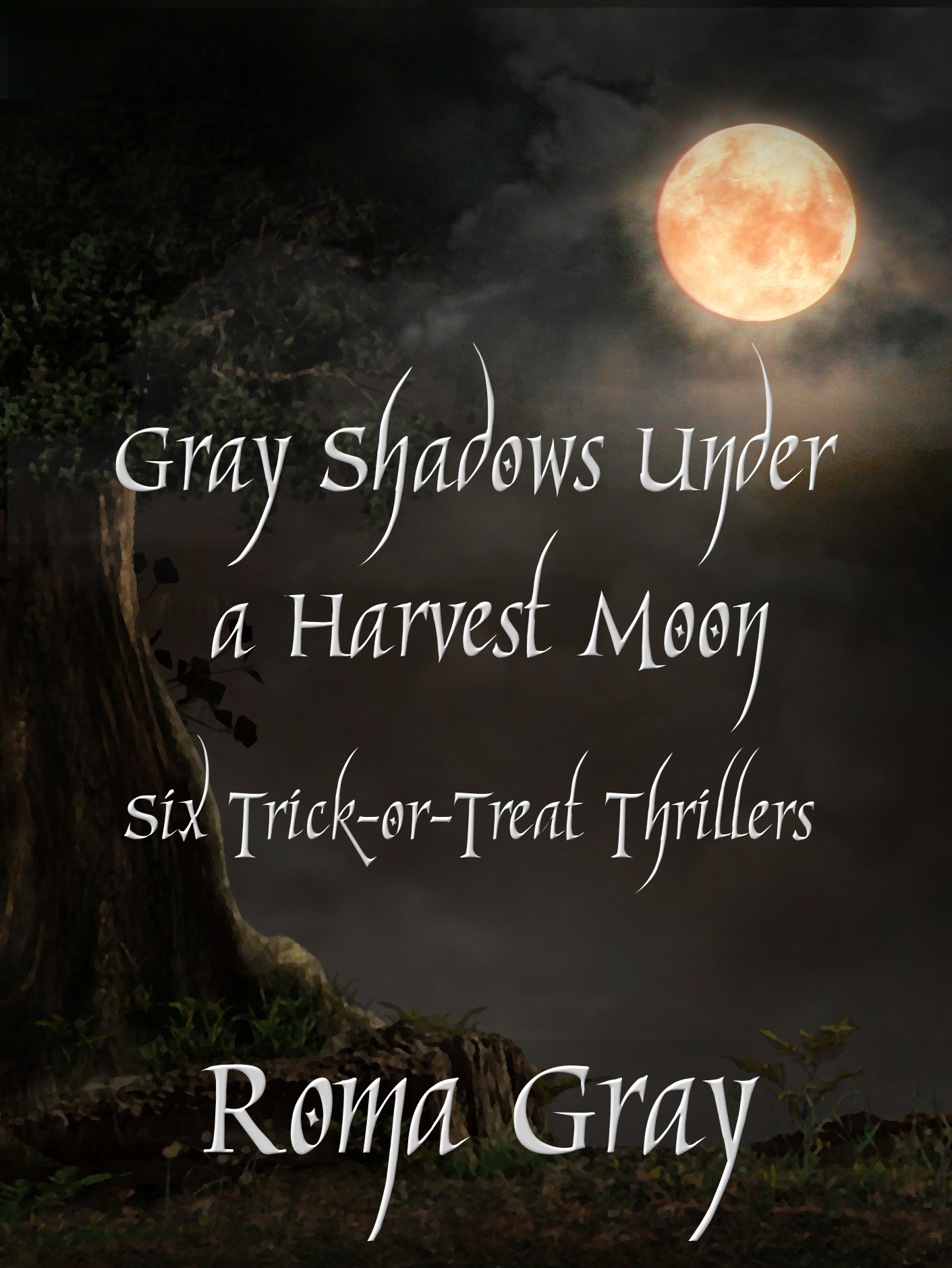 Click here to get Gray Shadows Under a Harvest Moon at Amazon