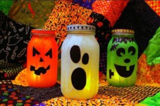 Halloween Mason Jars