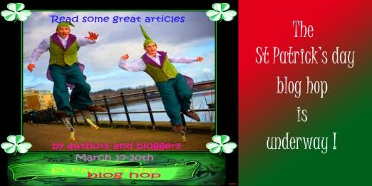St Patrick's day blog hop for Twitter