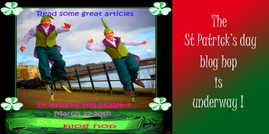 St Patrick's day blog hop for Twitter