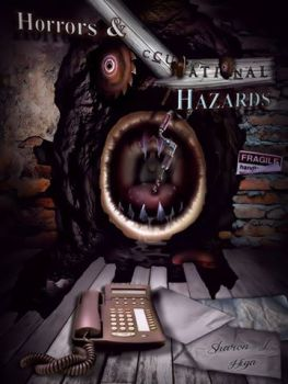 front-of-book-cover-for-horrors-occupational-hazards-vgw-ill-artist